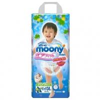 Трусики для мальчиков MOONY, размер XL, 12-17 кг, 38 шт (ДИСНЕЙ)
