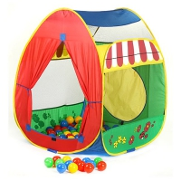 Игровой домик + 100 шаров (84х86х107 см), Calida 639