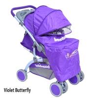 Прогулочная коляска с перекидной ручкой Bambini Mars