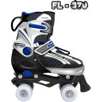 Роликовые коньки pаздвижные FLEXTER FL-370 размер M, L