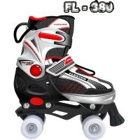 Роликовые коньки pаздвижные FLEXTER FL-380 размер M, L