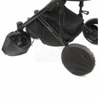 Чехлы на колёса для коляски с поворотными колесами (арт. 122B)