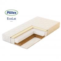 Матрас в кроватку ECO LAT (125х65х12 см) ЭКТ-02, Плитекс