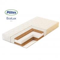 Матрас в кроватку ECO LUX (119х60х12 см) ЭКЛ-01, Плитекс