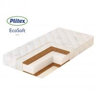 Матрас в кроватку ECO SOFT (119х60х12 см) ЭКС-01, Плитекс