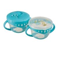 "Набор тарелок с двумя крышками Happy Baby ""Comfy plate"" 15020"