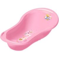 ОКТ Ванна со сливом 100 см. DISNEY, розовая