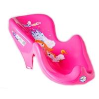ТЕГА Пласт. горка для ванны антискользящая Маленькая принцесса LP-003