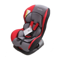 Автокресло 0-18 кг BAMBOLA Bambino серый/красный KRES0693
