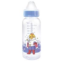 Бутылочка 250 мл с круглой силиконовой соской ПРИНЦЕССА Сказка, 1124