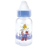Бутылочка 130 мл с круглой силиконовой соской ПРИНЦЕССА Сказка, 1122