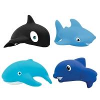 """Набор игрушек для купания """"Морской мир"""" 4 шт, с 12 мес, Lubby 15648"""