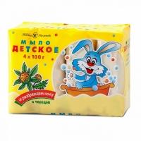 Мыло с экстрактом череды, 4х100 г., Невская Косметика А10155
