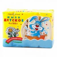 Мыло с экстрактом ромашки, 4х100 г, Невская Косметика А10157