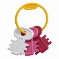 """Игрушка-прорезыватель """"Ключи на кольце"""" РОЗОВЫЕ, Chicco  63216.100"""