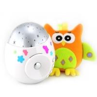 "Игрушка-проектор звездного неба ""COLIBRI"" с совой, Roxy-kids R-SA99B"