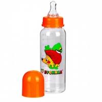 Бутылочка с силиконовой соской, 240 мл, Бусинка 1102