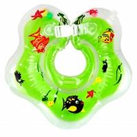 Круг на шею для купания с погремушкой Бусинка 303