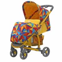 Прогулочная коляска Rant VIRA (Origami yellow-желтый)