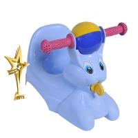 """Горшок-игрушка детский """"Зайчик"""" голубой, LA2710г"""