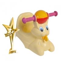 """Горшок-игрушка детский """"Зайчик"""" желтый, LA2710ж"""
