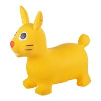 Надувные животные, ЗАЙКА, с насосом, 62х30х50 см, Желтый, Spring 23