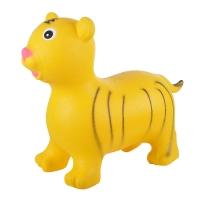 Надувные животные, ТИГРЕНОК, с насосом, 60х30х50 см, Желтый, Spring 30