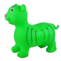 Надувные животные, ТИГРЕНОК, с насосом, 60х30х50 см, Зелёный, Spring 26