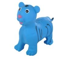Надувные животные, ТИГРЕНОК, с насосом, 60х30х50 см, Синий, Spring 28
