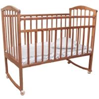Кровать колесо/качалка Золушка-1 ОРЕХ Агат 52101