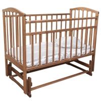 Кровать с поперечным маятником Золушка-3 ОРЕХ Агат 52101