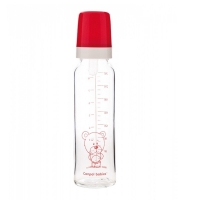 Бутылочка стеклянная, 240 мл, Canpol Babies 42/101