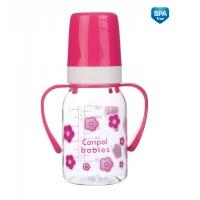 Бутылочка тритановая с ручками, 120 мл, 11/821, Canpol Babies