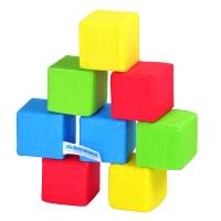 """Игрушка кубики """"4 цвета"""" Мякиши 332"""