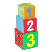"Игрушка кубики ""Мякиши"" (Раз, два, три) 154"