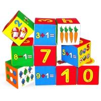"""Игрушка кубики """"Мякиши"""" (Умная математика) 177"""