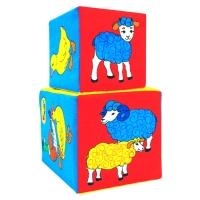 "Игрушки кубики ""Мякиши"" (Чей детёныш) 169"