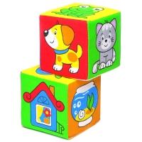 "Игрушка кубики ""Мякиши"" (Чей домик?) 111"