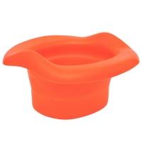 Вкладка универсальная для дорожных горшков, складн., оранжевая, Roxy kids ML-235RU-R
