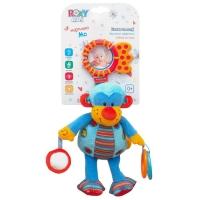 """Игрушка-подвеска со звуком """"Мартышка Мо"""" Roxy kids RBT100150А"""