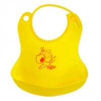 Слюнявчик гибкий с карманом (термопластичный эластомер), ПОМА 2916