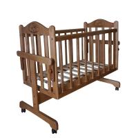 Кровать-колыбель для новорожденных Орех Мой малыш