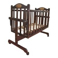 Кровать-колыбель для новорожденных Темный Мой малыш