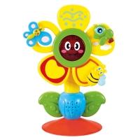"""Музыкальная игрушка на присоске Happy Baby """"Fun flower"""" 330072"""