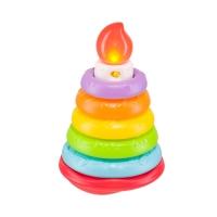 """Музыкальная пирамидка Happy Baby """"Happy Cake"""" 330080"""