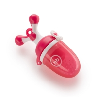"""Ниблер с силиконовой сеточкой Happy Baby """"NIBBLER TWIST"""", Red 15009R"""