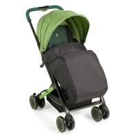 """Прогулочная коляска с накидкой на ножки Happy Baby """"Jetta"""" Green"""