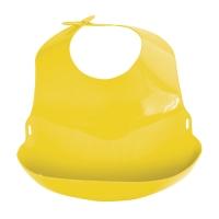 Слюнявчик пластиковый с отворотом, Lubby 4564