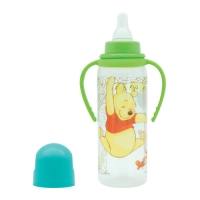 "Бутылочка с ручками 250 мл. ""Медвежонок Винни"", Lubby 13607"