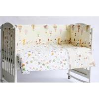 Бортик для кроватки Rabby Baby Лимпопо/бежевый 116403/4